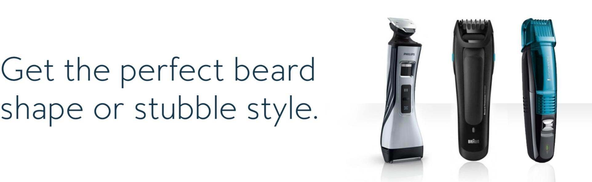 Find the Best Beard Trimmers | Shavers co uk | Free Delivery
