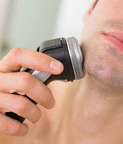 Dry Shaving Needn't Be a Rough Deal