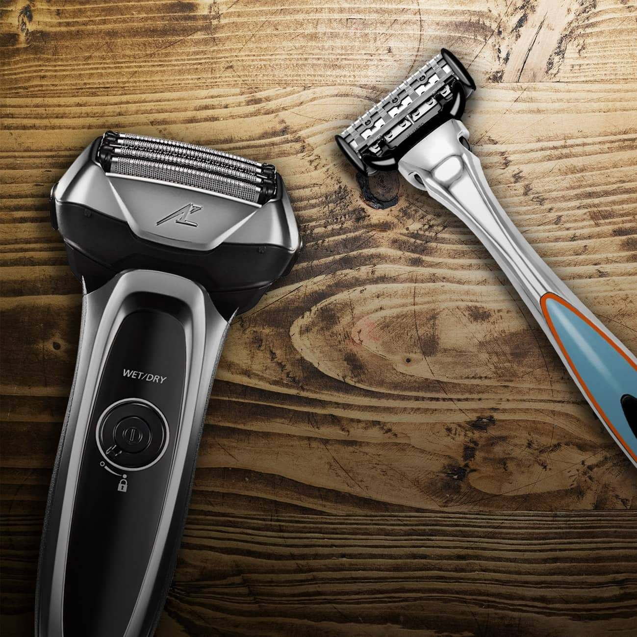 Cartridge razors vs electric shavers