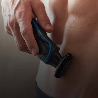 How to trim chest and stomach hair
