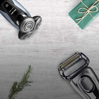 Choose your perfect electric shaver