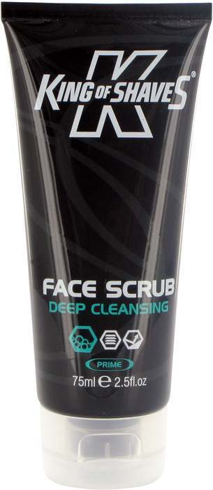 Face Cleansing King of Shaves K-XF Mens Facial Scrub