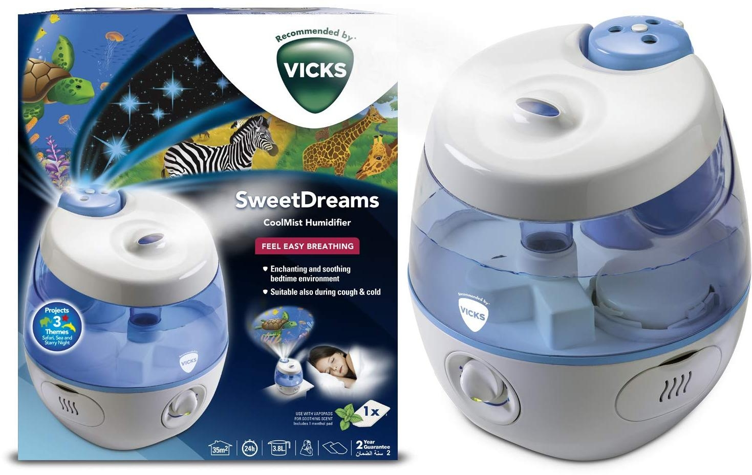 Vicks Humidifier Replacement Part Site (Scent Pads, model