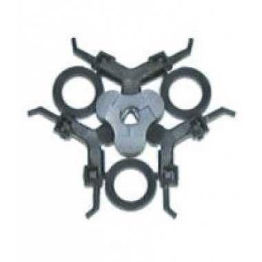 Philips 482240211319 HQ6000, HQ7000, Quadra Action Head Plate