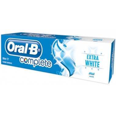 Oral-B 81683031 Complete Extra White 75ml Toothpaste