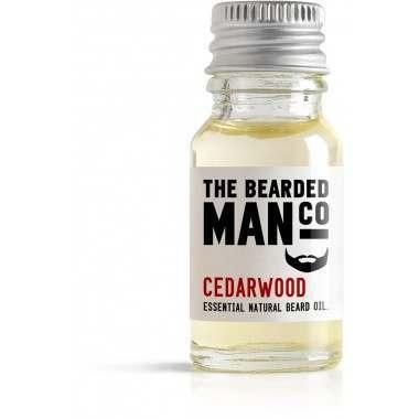 The Bearded Man Co. 10ml Cedarwood Essential Natural Beard Oil