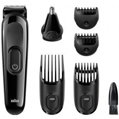 Braun MGK3020 Beard and Hair Trimmer Grooming Kit