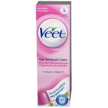 Veet TOVEE082 100ml Normal Hair Removal Cream