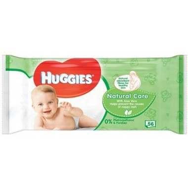 Huggies TOHUG013 56 Wipes Natural Baby Wipes