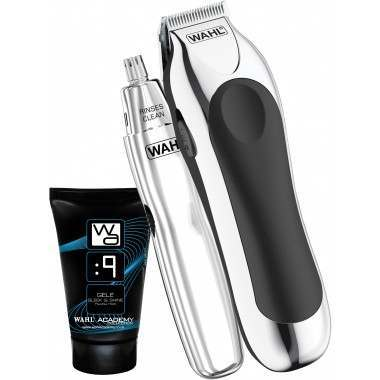 Wahl 9307-807X Stubble Trimmer and Gele Gift Set