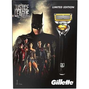Gillette 81628189 Justic League ProShield Razor & Blades Gift Set