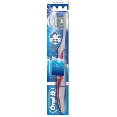 Oral-B 81685750 Pulsar 3D White Luxe 35 Extra Soft Toothbrush