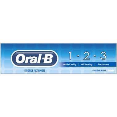 Oral-B 81623581 1 2 3 Delicate White 100ml Toothpaste