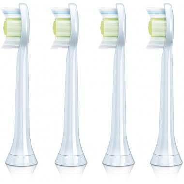 Philips HX6064/26 DiamondClean 4-Pack Standard Toothbrush Heads