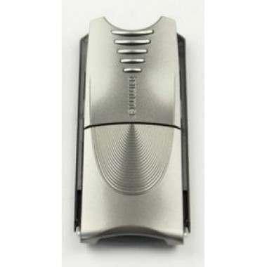 Braun 81267585 Noble Metal/Velour Chrome Long Hair Trimmer