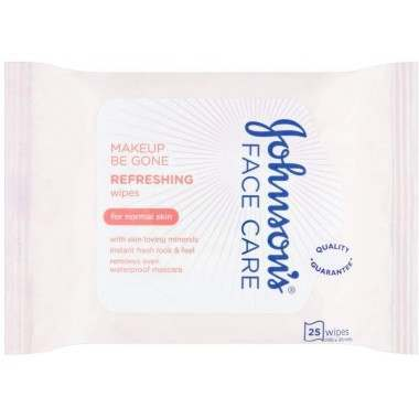 Johnsons TOJOH586 Make Up Be Gone Face Wipes