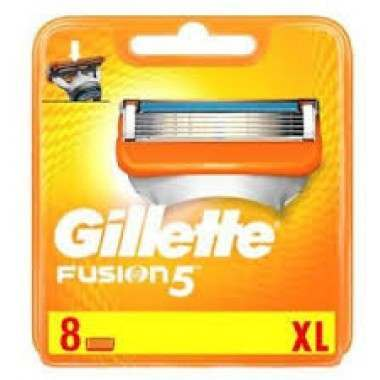 Gillette 81609432 Fusion Pack of 8 Blade Pack