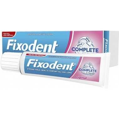 Fixodent TOFIX004 Complete Original Denture Adhesive Cream