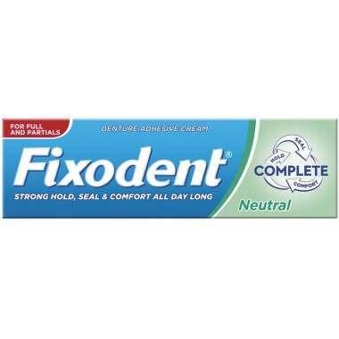 Fixodent TOFIX003 Complete Neutral Denture Adhesive Cream