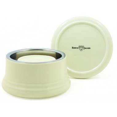 Edwin Jagger PPS-RNL07 Porcelain Ivory (with lid) Shaving Bowl
