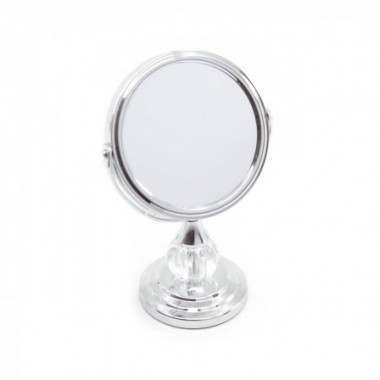 Sanjo Accessories SJA42092 Mini Chrome 8cm Jewel Mirror