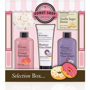 Bayliss & Harding BHBCDN165P Beauticology Donut Perfect Gift Set