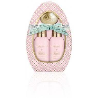 Bayliss & Harding BHBM19PPEG Pink Prosecco & Elderflower Egg Gift Set