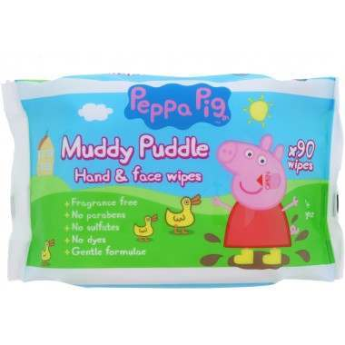 Peppa Pig TOWIP027A Hand And Face Baby Wipes