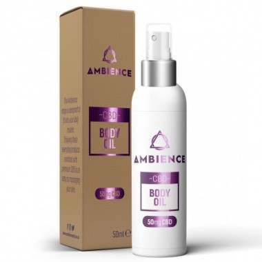 Ambience AMCBD50BO 50mg Body Oil