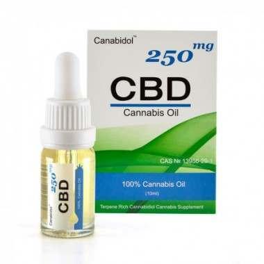 Canabidol CBD12501 250mg Cannabis Oil
