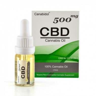 Canabidol CBD15001 500mg Cannabis Oil