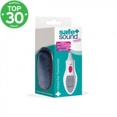 Safe + Sound SA8091 Infra Red Ear (Cover Free) Thermometer