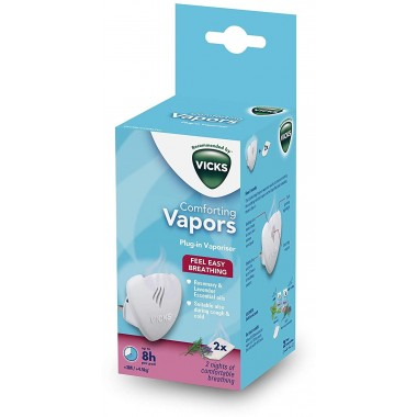 Vicks VH1700 Rosemary & Lavender Vapor Plug In