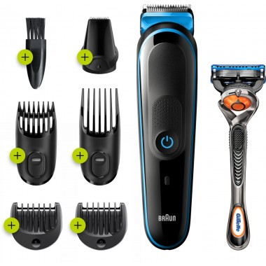 Braun MGK3245 Beard Trimmer & Hair Clipper Grooming Kit
