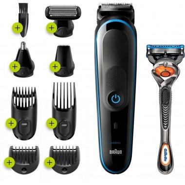 Braun MGK5280 Beard Trimmer & Hair Clipper Grooming Kit