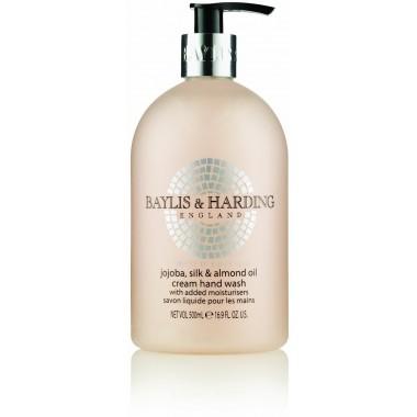 Bayliss & Harding BHBMHWJO Jojoba, Silk & Almond Oil 500ml Hand Wash