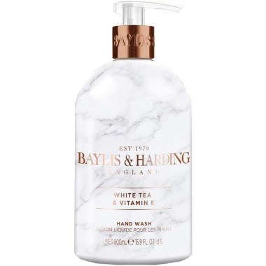 Bayliss & Harding BHELHWWT Elements White Tea & Neroli 500ml Hand Wash
