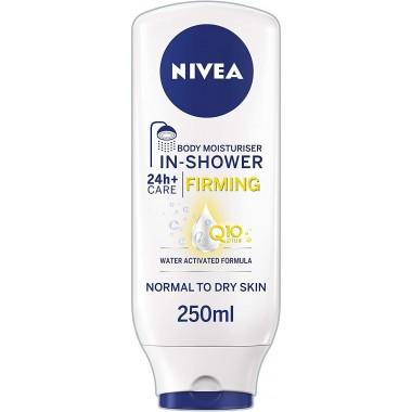Nivea TONIV268 Q10 250ml In Shower Moisturiser