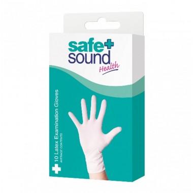 Safe + Sound SA8923 10 Pack Latex Glove