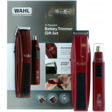 Wahl 5537-7017 Groomease 11 Piece Battery Beard Trimmer