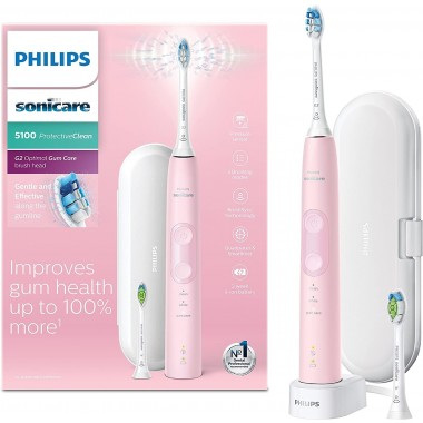 Philips HX6856/10 Sonicare ProtectiveClean 5100 Electric Toothbrush