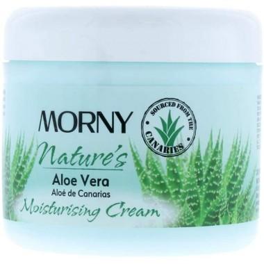 Morny TOMOR020 300ml Natures Aloe Vera Moisturising Cream