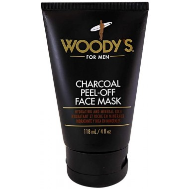 Woody's TOWOO106 For men 118ml Charcoal Peel Off Face Masks