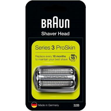 Braun 32B Series 3 Black Cassette Foil & Cutter Pack