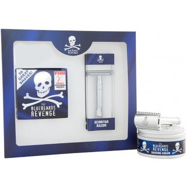 The Bluebeards Revenge BBRSCSCIMK Shaving Cream & Scimitar Razor Gift Set