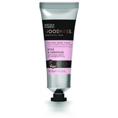 Bayliss & Harding BHGRHCRG Goodness Rose & Geranium Hand Cream