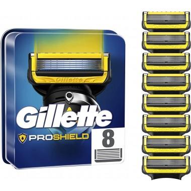 Gillette 81738683 Proshield Power Pack of 8 Razor Blades