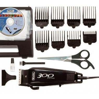 Wahl 9246-810 300 Series Instructional DVD and Corded (Mains only) Hair Clipper