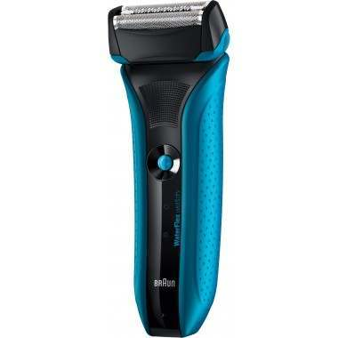 Braun WF2s WaterFlex Blue Men's Electric Shaver