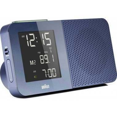braun bnc010 blue global controlled radio alarm clock. Black Bedroom Furniture Sets. Home Design Ideas